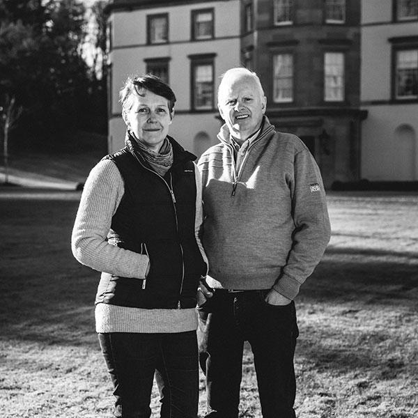 Gordon and June at Montalto Estate